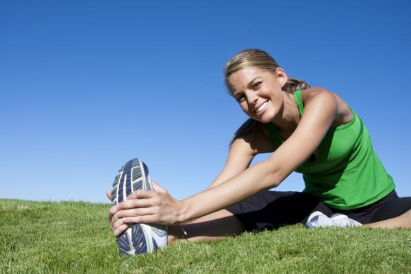 Woman in Clermont, FL running and in need of chiropractic care